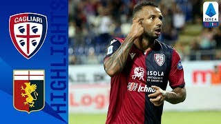 Cagliari 3-1 Genoa | 3 Late Goals See Cagliari Take The Points In Crazy Game | Serie A