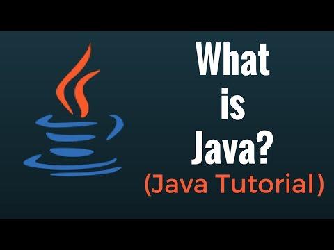 What is Java? - Java Programming Tutorial