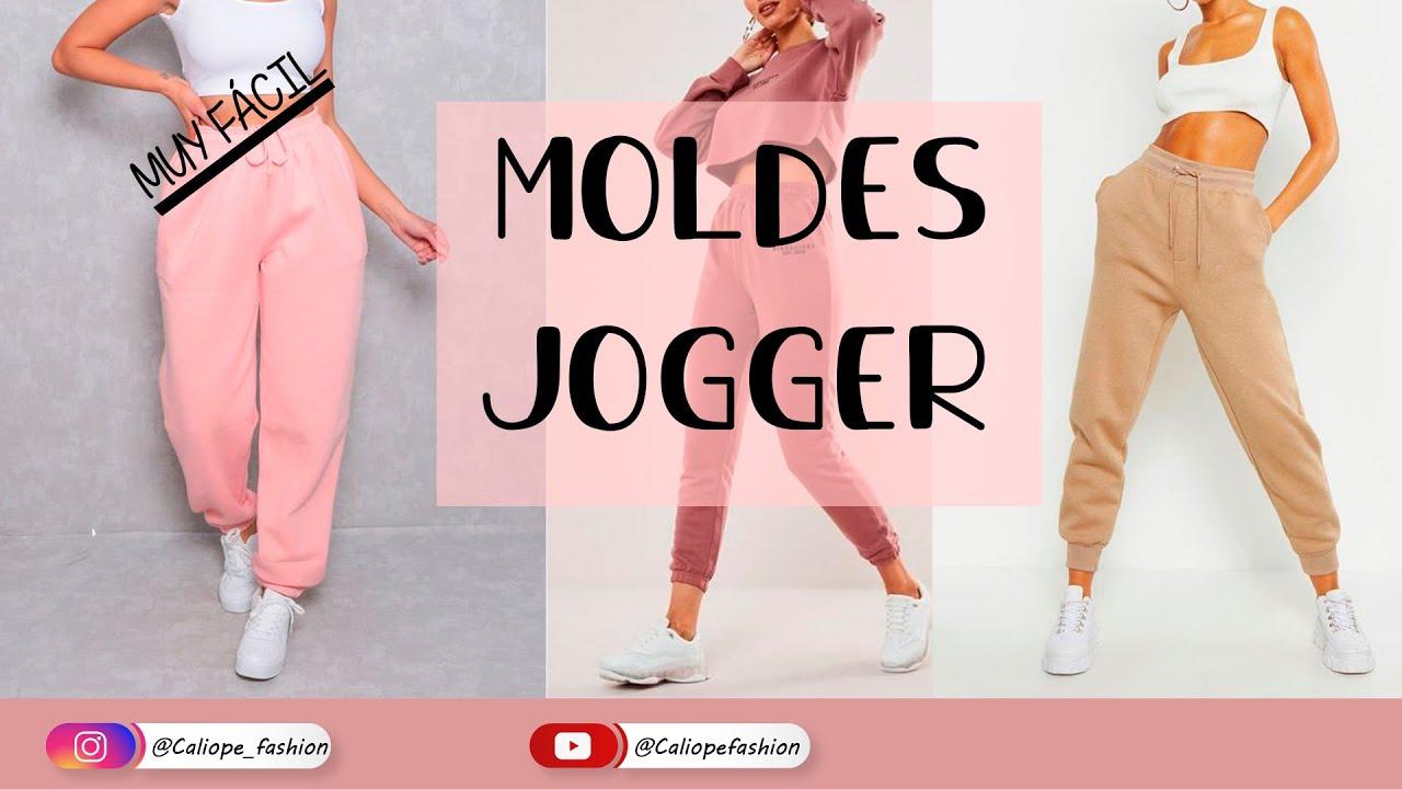 Como Hacer Pantalones Jogger Muy Facil Apartir Del Trazo Basico Parte 1 Youtube