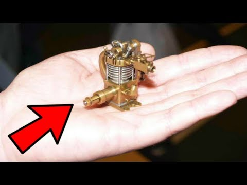 Top 20 MOST INCREDIBLE SMALLEST ENGINE In The World Starting And Running [HANDMADE]