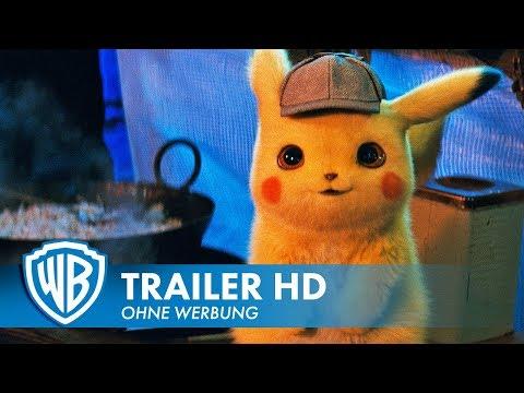 POKÉMON MEISTERDETEKTIV PIKACHU - Offizieller Trailer #1 Deutsch HD German (2019)