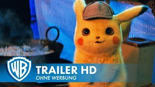 POKÉMON MEISTERDETEKTIV PIKACHU - Offizieller Trailer #1 Deutsch HD German (2019)