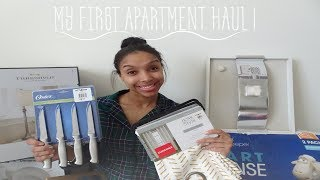 HUGE FIRST APARTMENT HAUL ! | BUDGET FRIENDLY
