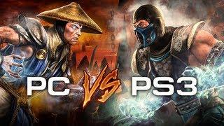 Mortal Kombat (2011) — Сравнение графики PC vs. PS3