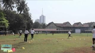 Cricket Practice:fielding, Relay Throws, Warm Up
