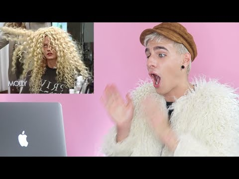 HAIRDRESSER REACTS TO AMERICAS NEXT TOP MODEL MAKEOVERS PART 2! | bradmondo
