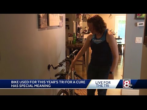 More than a bike: One athlete's bicycle shared with another