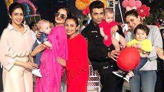 Inside Rani Mukerji's Daughter Adira's Birthday Bash: Taimur Ali Khan, Abram Khan And Other Snapped