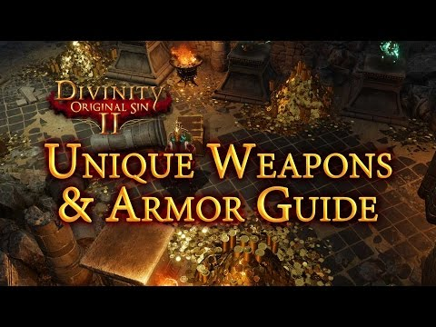 DOS2 Unique Weapons & Armor Locations Guide
