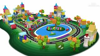 Rainbow Track || Toy Train Cartoon for Children | Trains for Kids - Toy Factory.