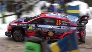 RALLY SWEDEN SHAKEDOWN HIGHLIGHTS | WRC 2019