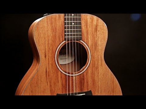 taylor gs mini e koa acoustic electric guitar youtube. Black Bedroom Furniture Sets. Home Design Ideas