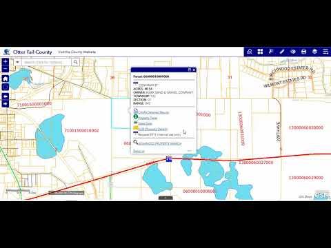 Identify - Otter Tail County, MN GIS Web App