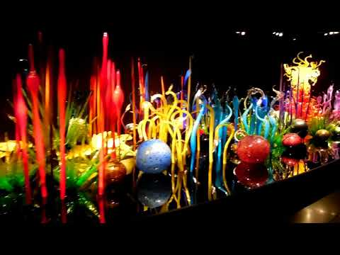 Chihuly Glass museum and gardens, Seattle, WA.