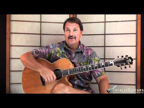 My Sweet Lord Guitar Lesson Preview   George Harrison