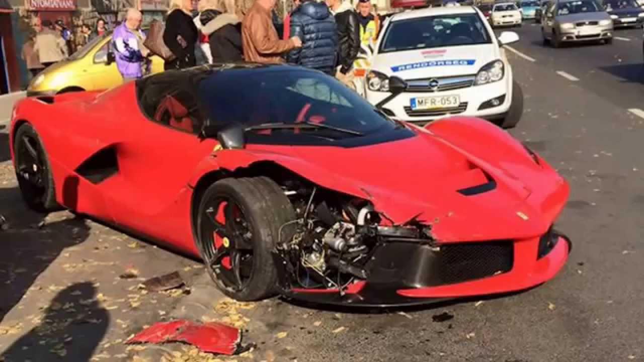 Ferrari Car Crash Singapore