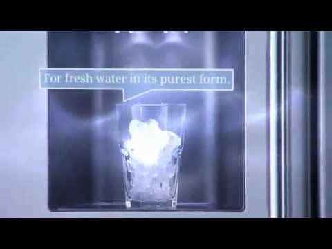 Siemens Kühlschrank Iwd Off : Siemens refrigerators ice and water dispenser youtube