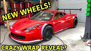 Download Building A Widebody Ferrari 458 Part 5 Mp3 and Videos