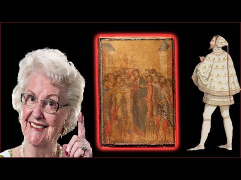 Elderly woman is Millionaire after Cimabue painting in her kitchen sells for record fee
