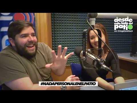 EL SHOW DE ANGEL DAVID SARDI Invitados Natalia Lozano y Guille Montiel (#NADAPERSONAL) 8/08/2017