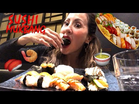 SUSHI MUKBANG All you can Eat !!! EATING SHOW !!! Incredibile 50 portate !!!