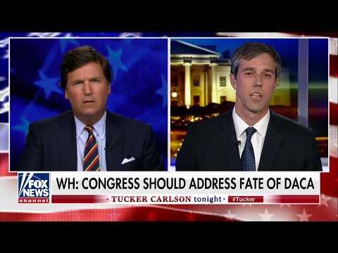 Beto O'Rourke takes on Fox's Tucker Carlson on DACA