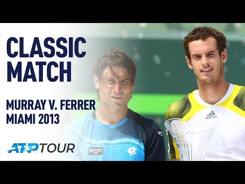 MURRAY V FERRER | 2013 MIAMI OPEN FINAL | ATP