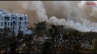 Bellandur lake catches fire yet again
