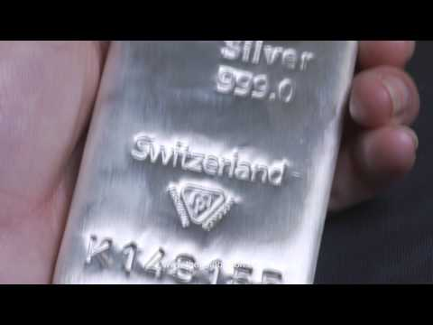 Metalor 1 kilogram Silver Bullion Bar