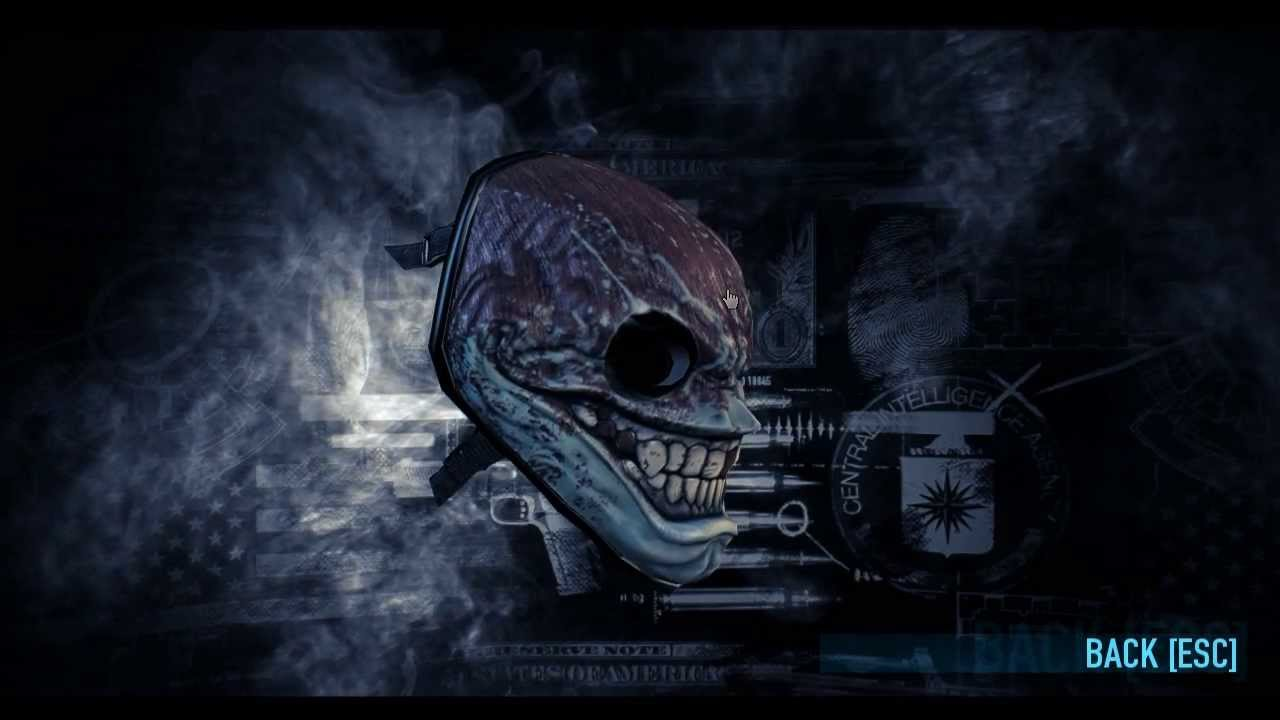 Payday 2 Mask Of The Day Episode 36 Madness The Grin Youtube
