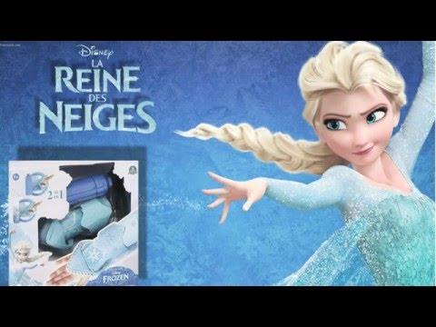 kid studio test unboxing le gant magique de elsa la reine des neiges avec oc ane youtube. Black Bedroom Furniture Sets. Home Design Ideas