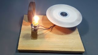 free energy light bulbs generator with magnets _ science projects