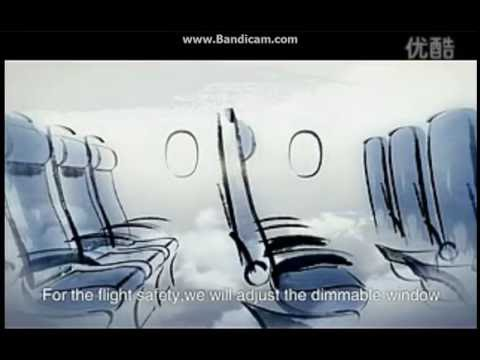 China Southern Airlines New Safety Video