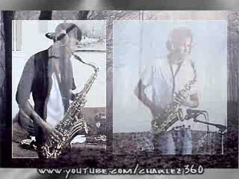 TI ft. Jamie Foxx-Live In The Sky-Tenor-Alto Saxophone Duet