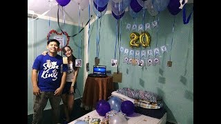 Birthday surprise for my Boyfriend Troy!🎉 |Love, Jacky💓|