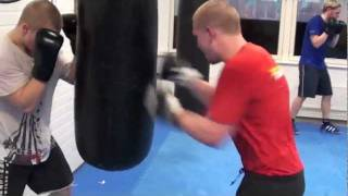 GB Gym nyrkkeily: Niemelä vs Korhonen