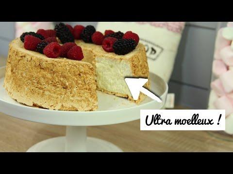 ♡•-le-gÂteau-le-moelleux-au-monde-!-|-recette-angel-cake-•♡