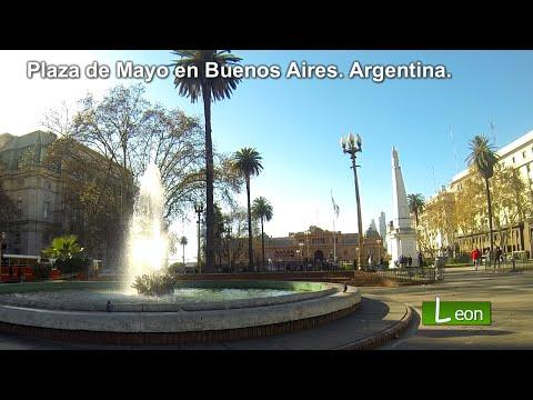 Plaza de Mayo en Buenos Aires. Argentina.
