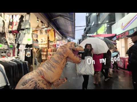 【 ZIM話題無限誌】暴龍的日常 Part 4 / 夜市篇 T-Rex in Taipei night market