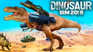 Dinosaur Sim 2019 (by MT Free Games) Android Gameplay Trailer