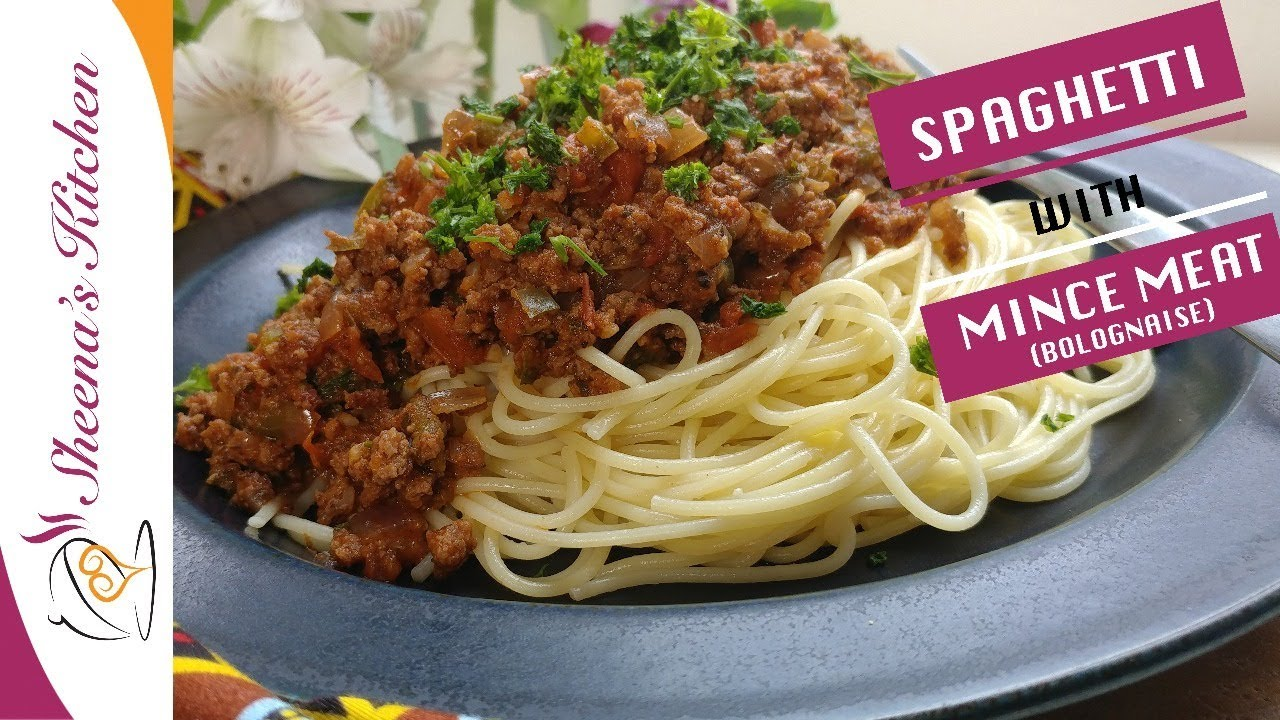 Spaghetti And Mince Meat Spaghetti Recipe Kenya Sheena S Kitchen Youtube