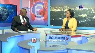 THE 6PM NEWS (GUEST: Jean claude AGBORTEM) THURSDAY JANUARY 17th 2019 - EQUINOXE TV