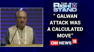 The Galwan Attack Was A Very Calculated One Says Former Diplomat G Parthasarathy | Right Stand