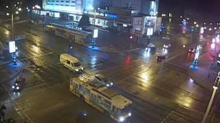 ДТП Запорожье Украина 28.05.2016(webcam.zp.ua., 2016-06-15T13:57:17.000Z)