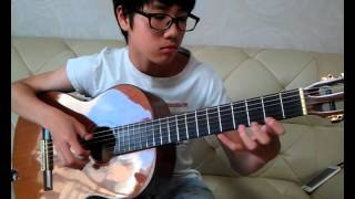 Turkish march (classical guitar)  - Seonwoo Kim