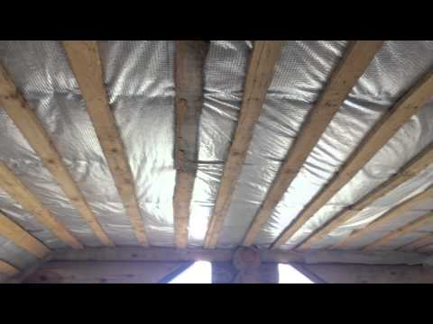 Как не надо утеплять крышу мансарды. Error insulation roof.