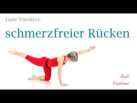 32 min. Wirbelsäulen-Gymnastik ohne Hilfsmittel