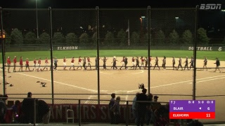BSDN Live - Blair @ Elkhorn - Softball - 2018