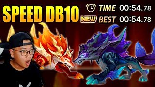 NEW F2P SPEED DRAGONS B10 TEAM IN 33 DAYS? ANOTHER NAT 5? Summoners War Beginner Account Ep.8