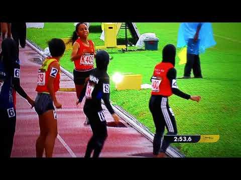 Womens  4 x 400 meter - SUKMA 2018